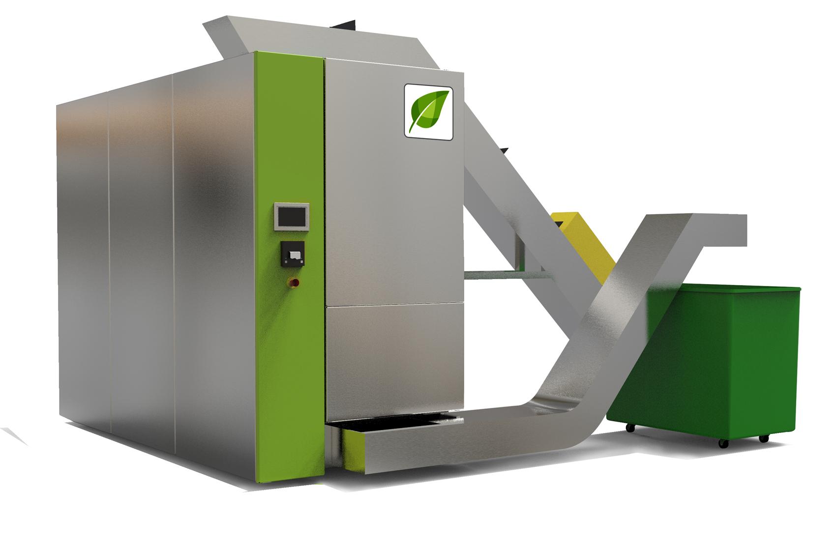 ST 500 para el tratamiento de residuos peligrosos